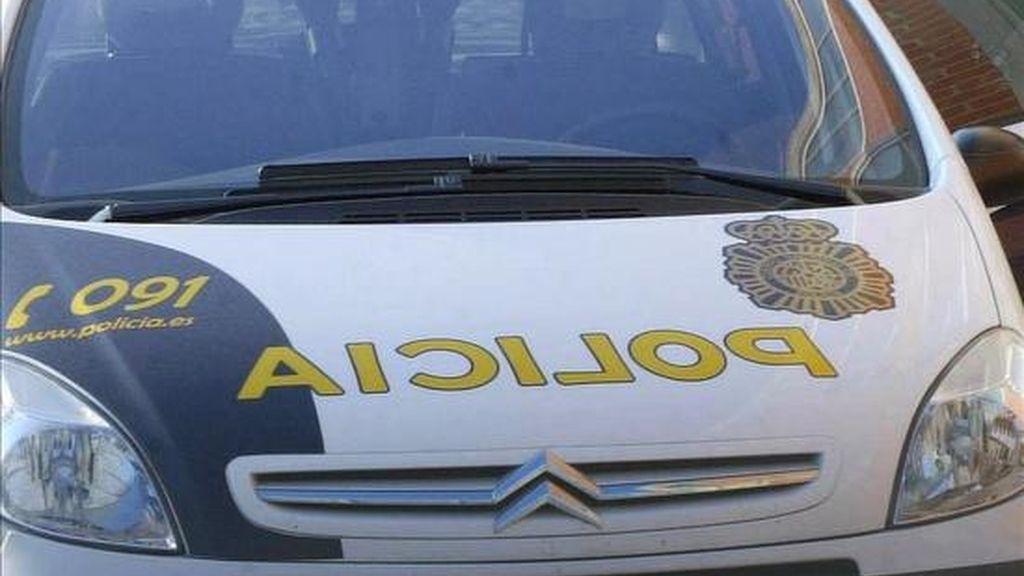 Un coche de Policía en un suceso. EFE/Archivo