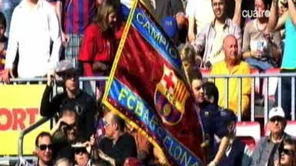 El Barcelona se deja la piel
