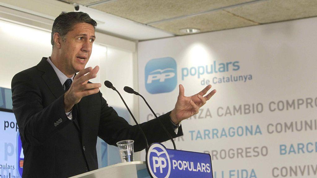 Albiol habla en la sede del PP-C
