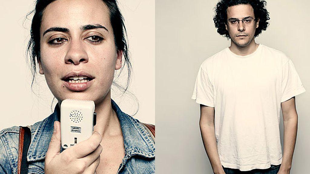 Los dos españoles que participan en el reportaje de la revista Time: Cristina Rodríguez y Olmo Gálvez.