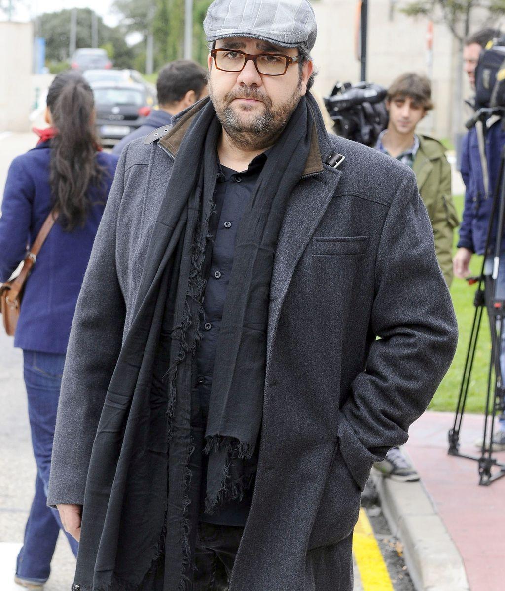 Florentino Fernández acude a la capilla ardiente de Miliki
