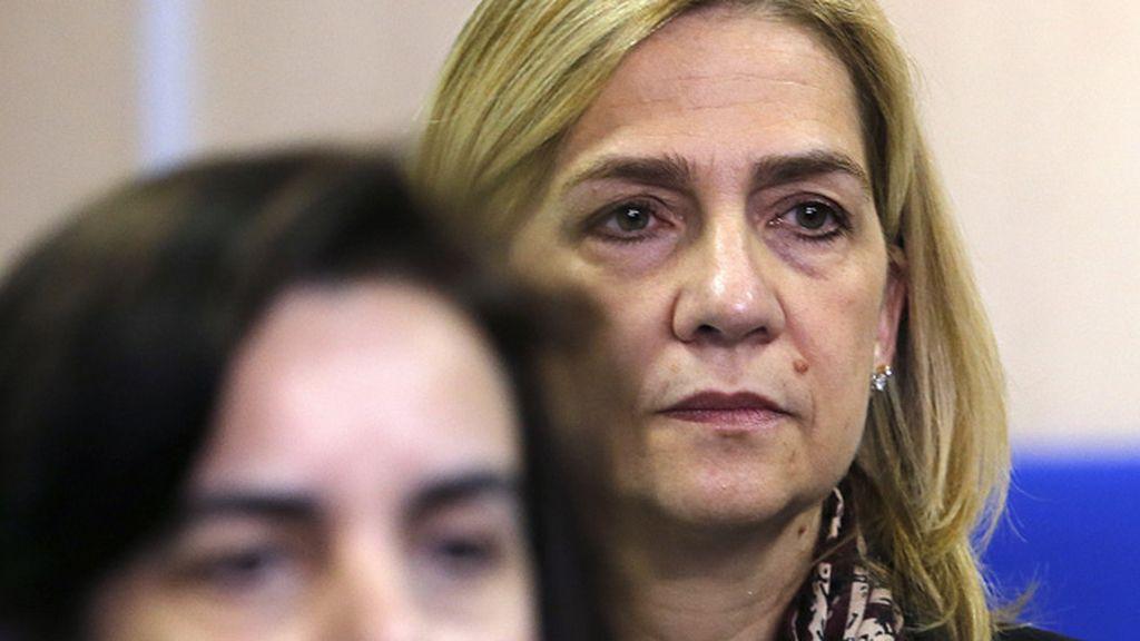 La Infanta Cristina, en el banquillo
