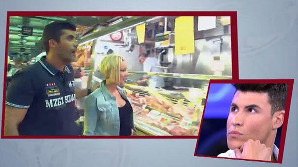 Fran sorprende a Belén con una degustación de canapés