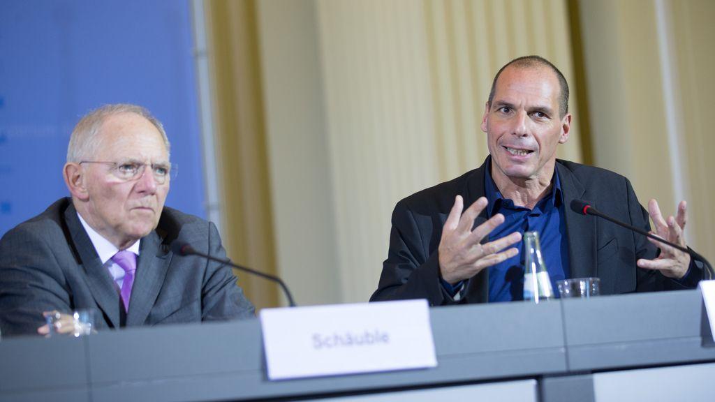 Yanis Varoufakis pide tiempo para un nuevo rescate en su visita a Alemania