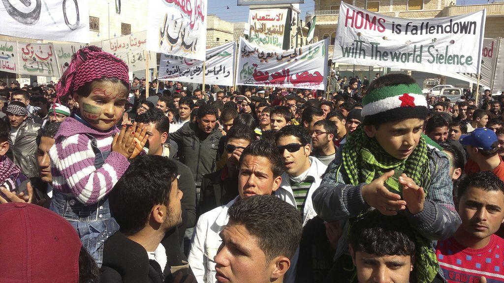 Manifestaciones contra el presidente de Siria, Bashar al-Assad