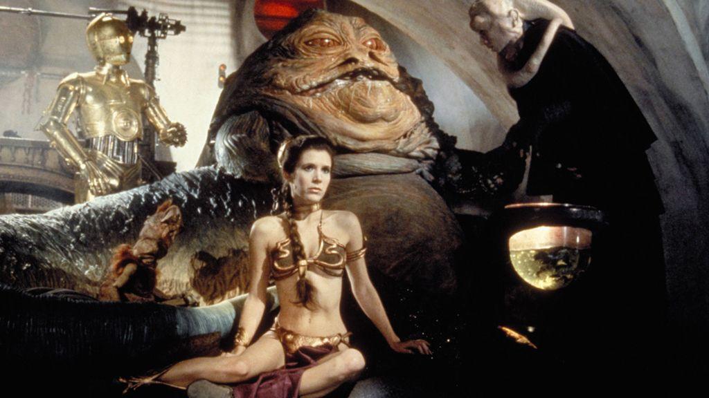 Leia, de princesa a esclava
