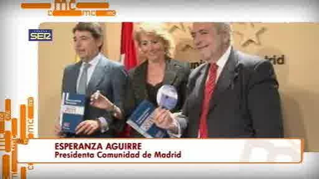Esperanza Aguirre opina sobre la polémica de Dragó