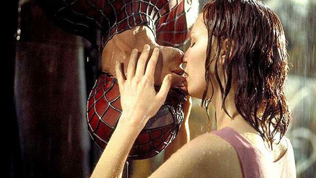 Tobey Maguire y Kirsten Dunst en 'Spiderman'