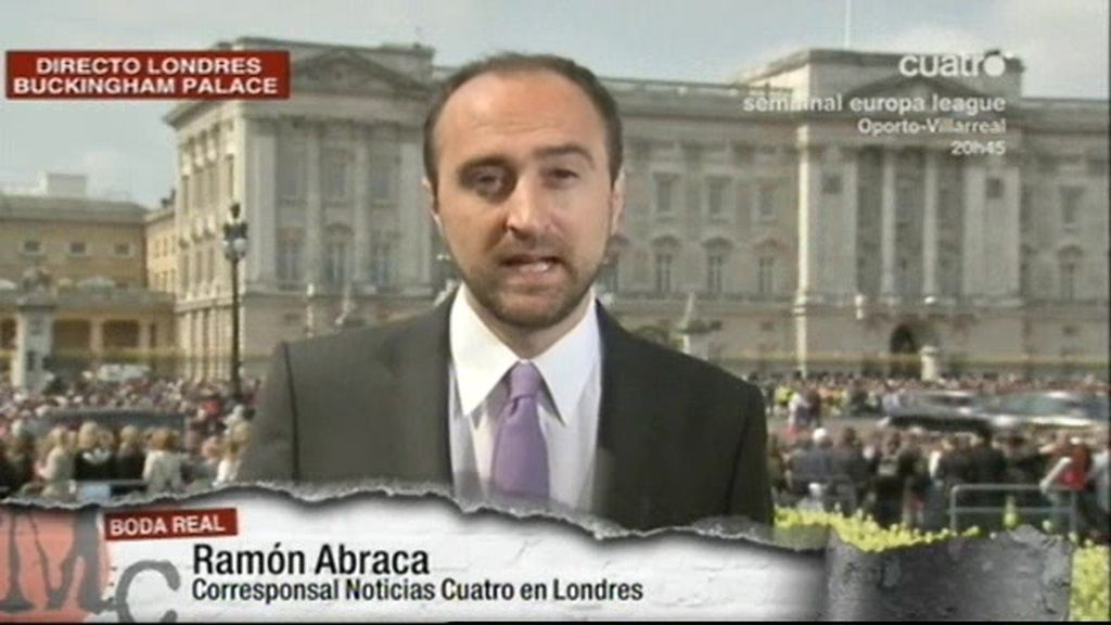 Londres se prepara para la Boda Real