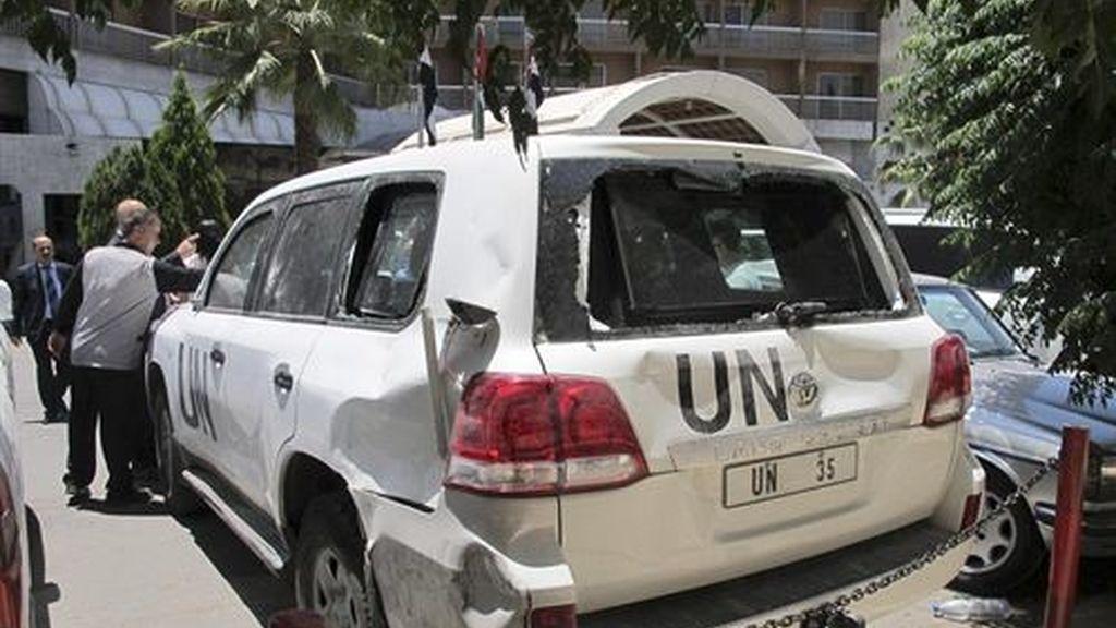 UNSMIS, Siria