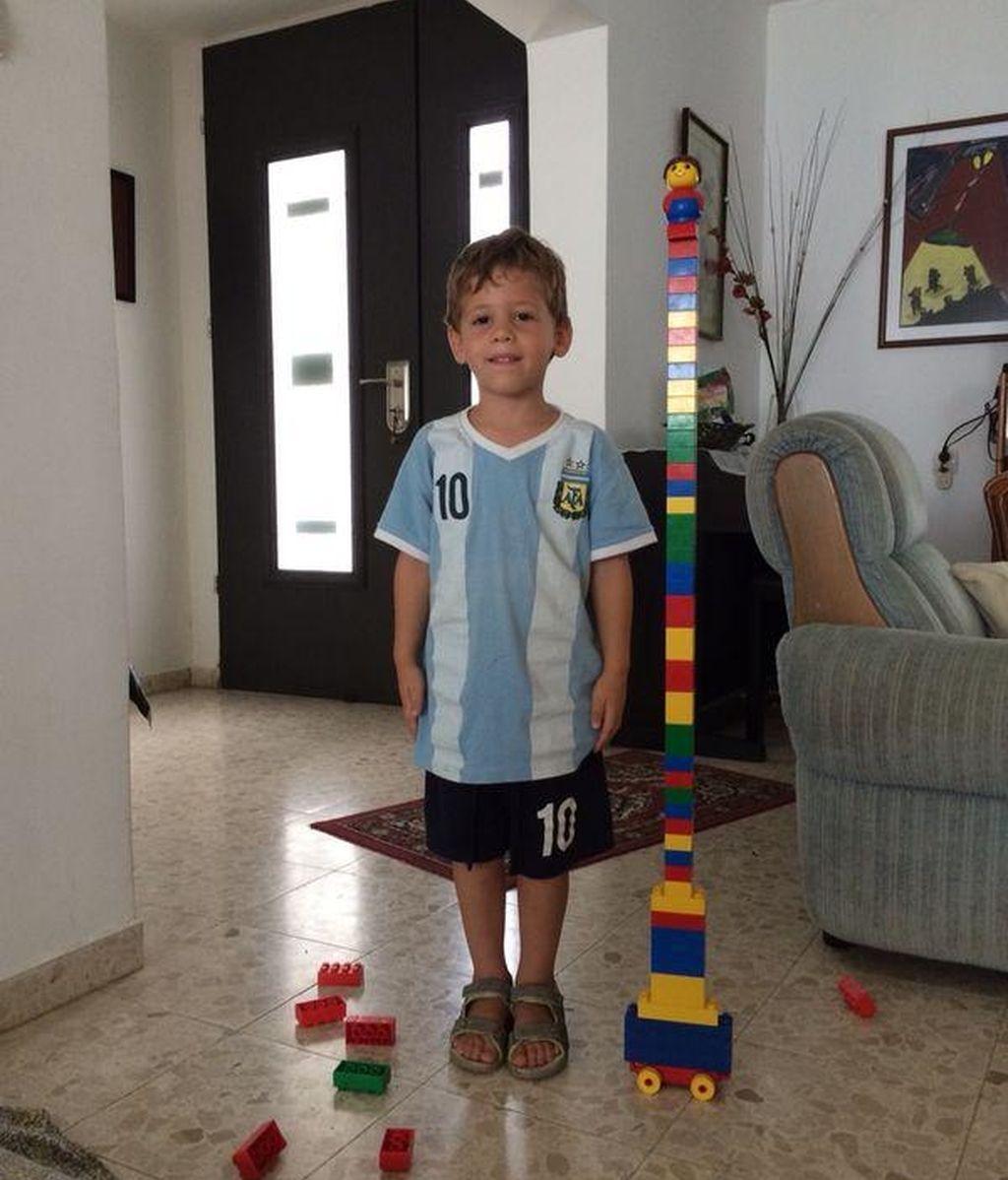 Daniel Tregerman, niño israelí de cuatro año muerto por un bomba palestina