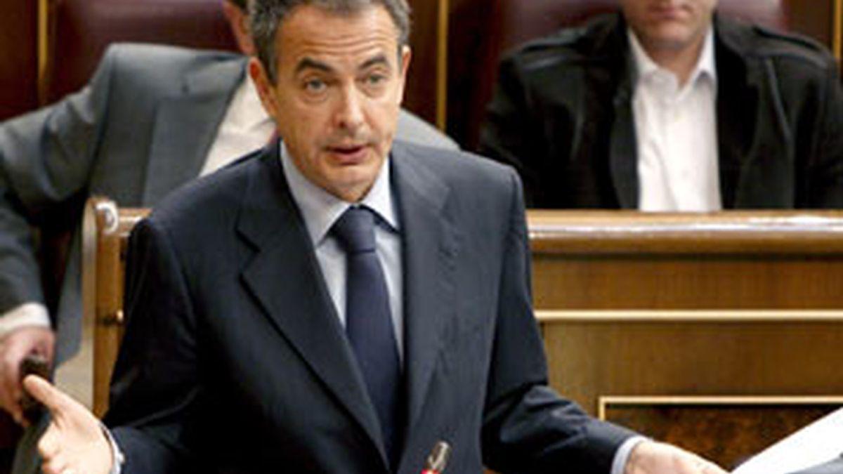 """Zapatero reconoce que hubo """"excesos"""" en la campaña electoral. Vídeo: ATLAS."""