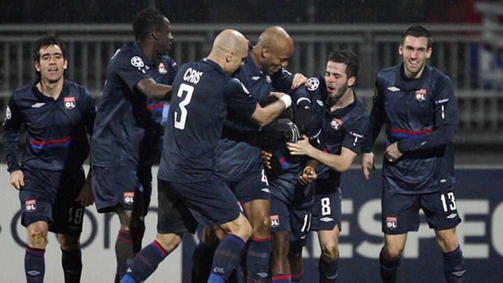 El Lyon parte con ventaja frente al Madrid