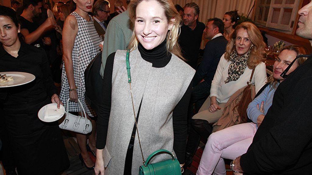 Fiona Ferrer fue otra de las asistentes a este cóctel