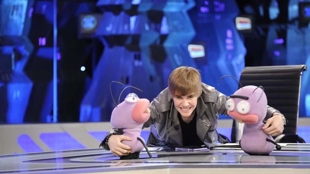 Justin Bieber y las hormigas