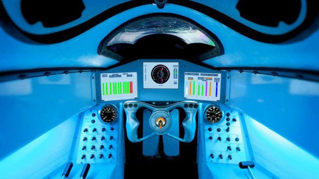 Crean un coche supersónico que alcanzará los 1.600 kilómetros por hora