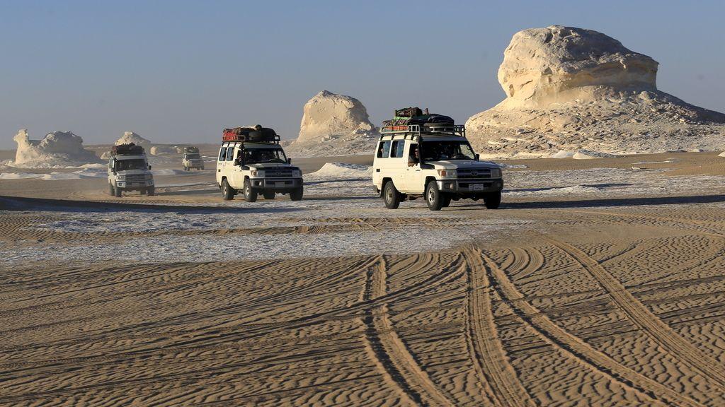 El desierto donde Egipto ha matado por error a 12 turistas mexicanos al confundirlos con terroristas