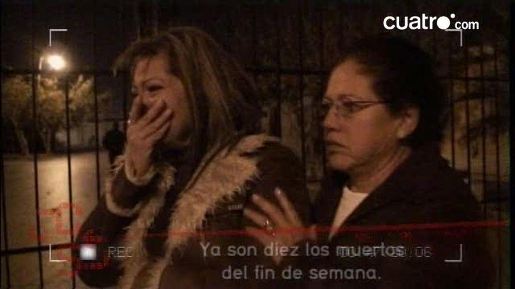 Samanta acude justo después de producirse un tiroteo en Ciudad Juárez
