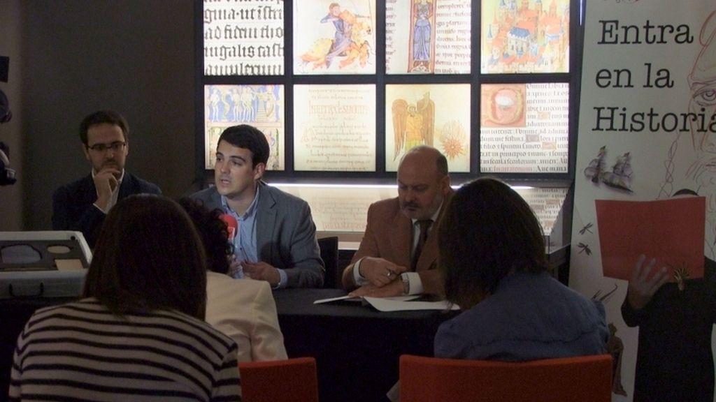 Presentación del programa educativo para colegios del Museo del Libro de Burgos