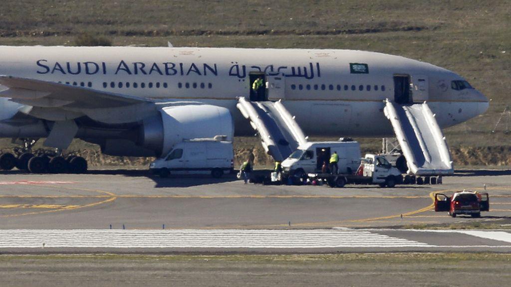 Amenaza de bombar en un avión en Barajas