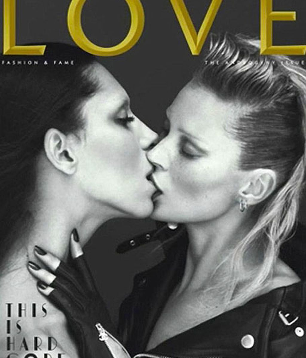 Kate Moss y Lea T. Kate
