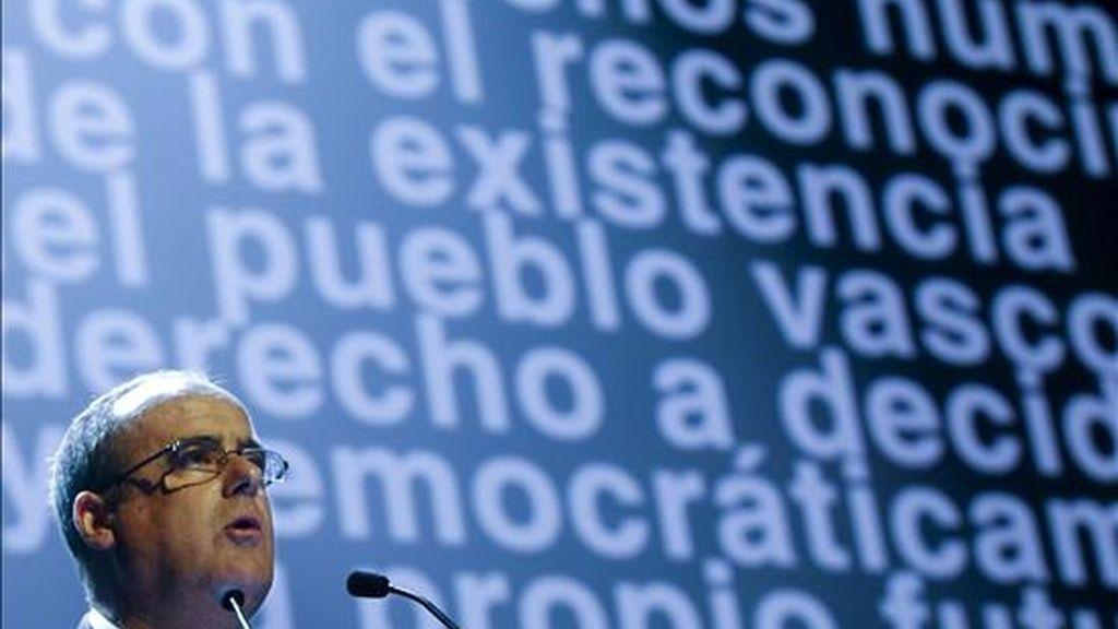 El presidente del PNV en Guipúzcoa, Joseba Egibar. EFE/Archivo