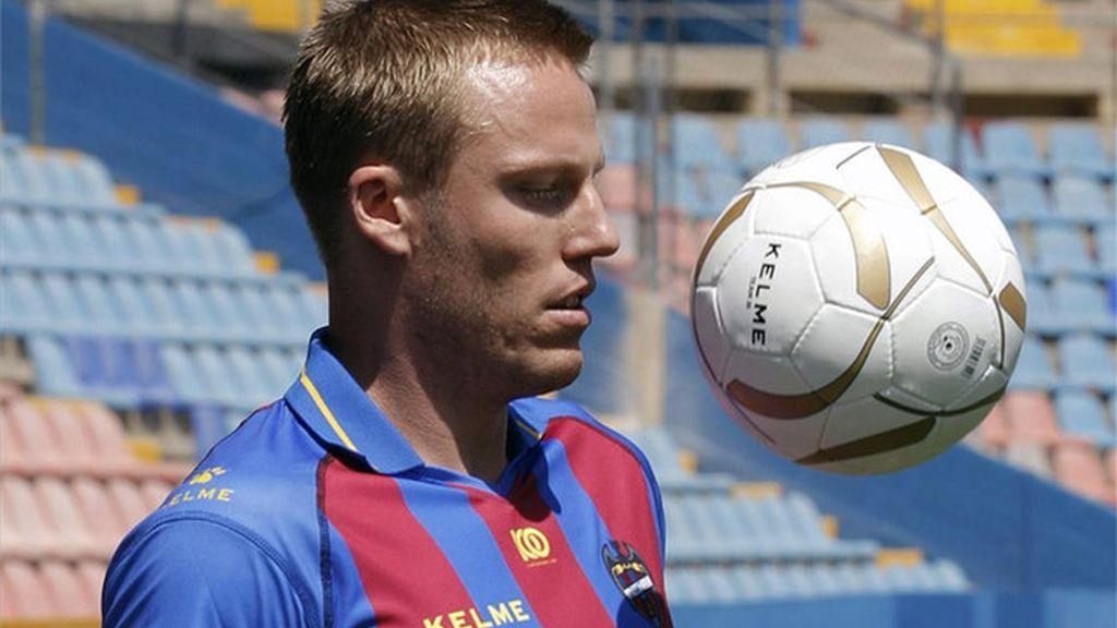 Christian Lell, jugador del Levante