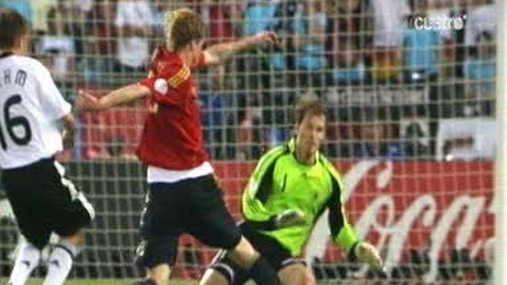 Torres y Lahm se reencuentran tras la eurocopa