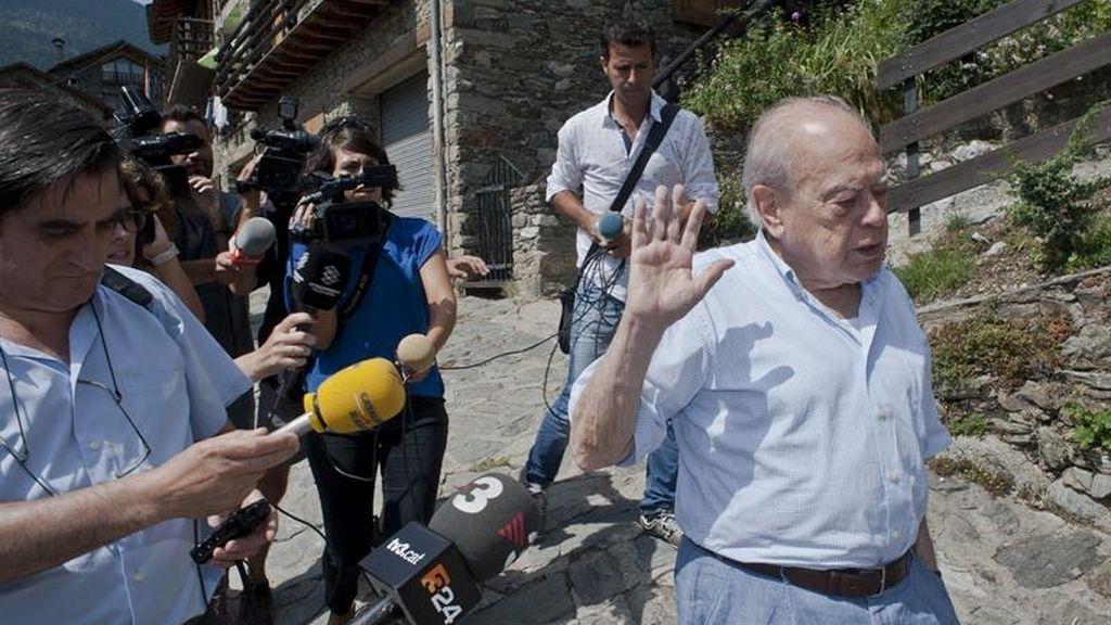 Jordi Pujol recibe la notificación de Hacienda para declarar