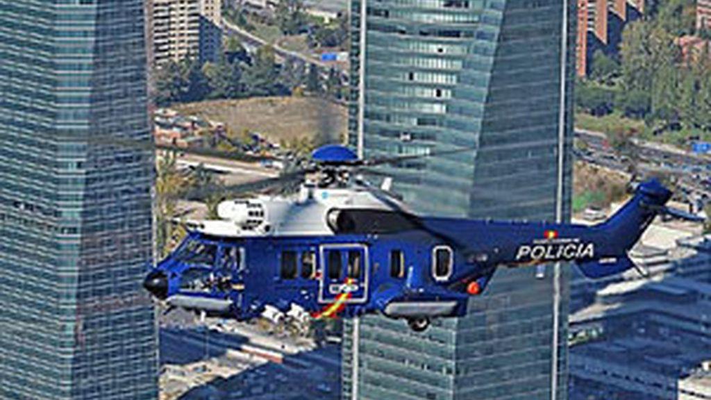 La última adquisición de la Policía Nacional el EC- 225