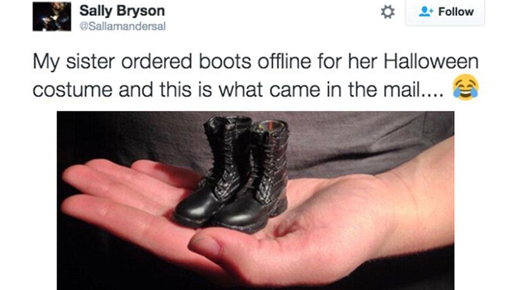 No es oro todo lo que reluce, los engaños más graciosos de las compras online