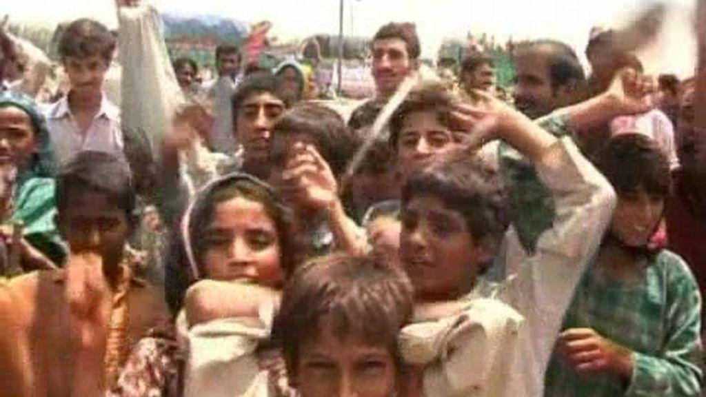 Ban Ki  Moon certifica in situ la catástrofe de Pakistán