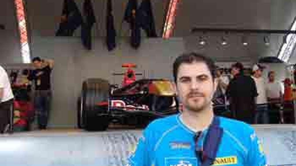 Juan Manuel Jiménez de Toledo en el GP de Montmeló