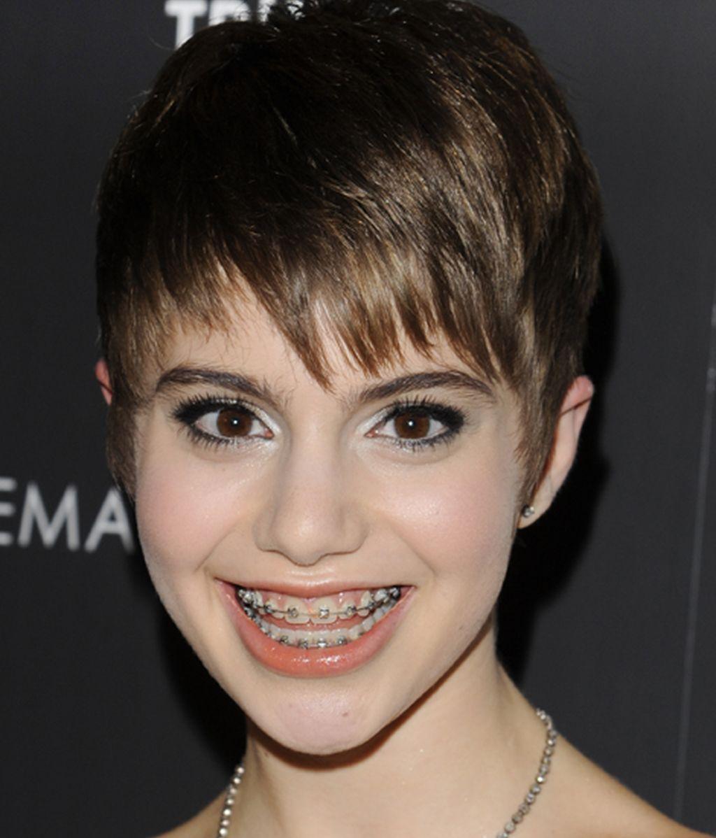 La joven actriz Sami Gayle, durante una promoción del film 'Detachment'