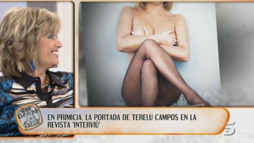 '¡Qué tiempo tan feliz!' muestra en primicia la portada de Terelu Campos