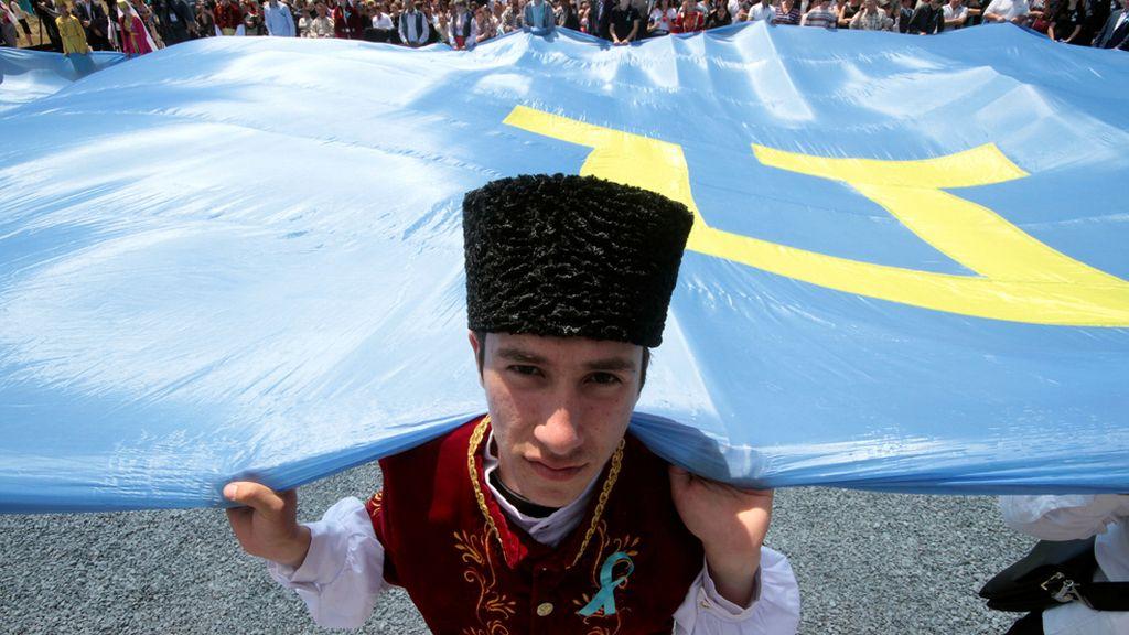 De celebración en Crimea
