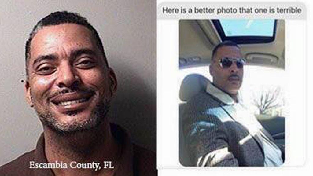 Envió una foto a la Policia que le andaba buscando