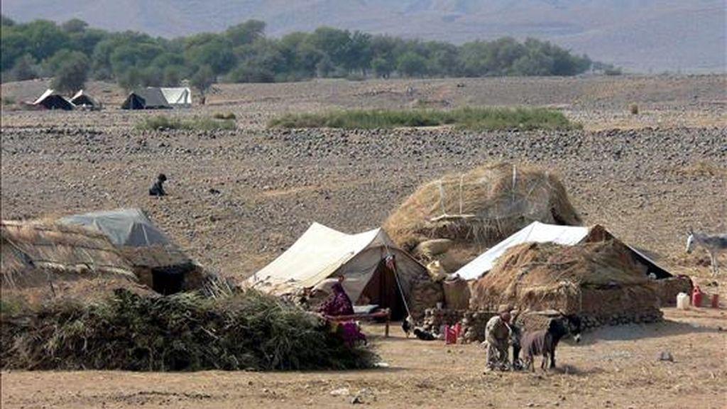 Al menos nueve insurgentes murieron hoy en combates con las fuerzas de seguridad paquistaníes en dos puntos del noroeste del país, informaron fuentes militares. EFE/Archivo