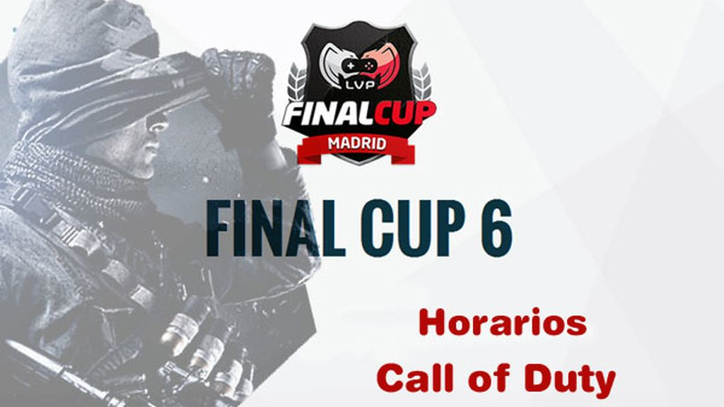 Final Cup 6, logo, horarios, Call of Duty