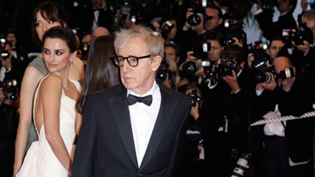 Pe y Woody Allen, una amistad forjada en los rodajes