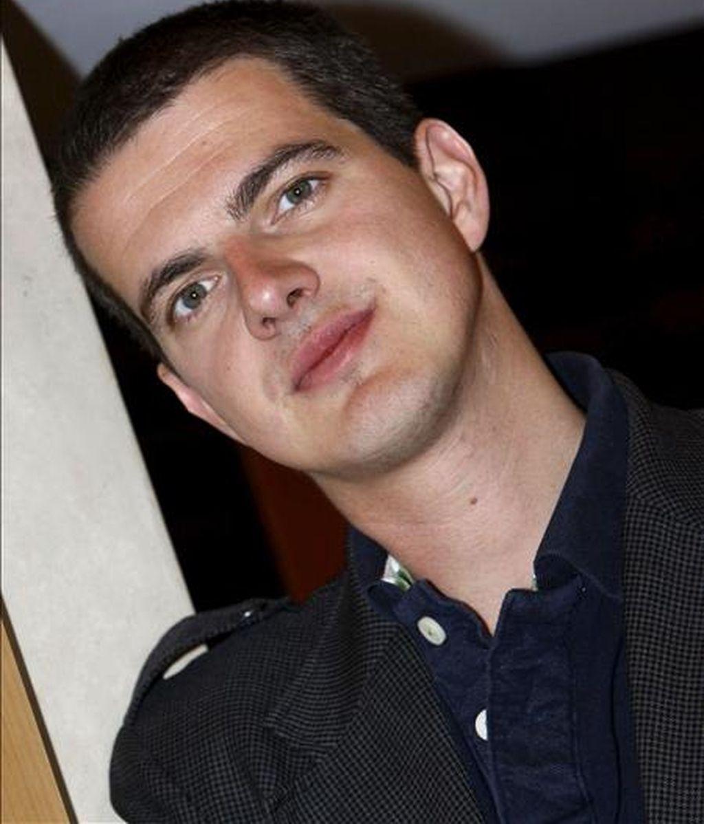 El contratenor Philippe Jaroussky, durante la entrevista que concedió a Efe. EFE/Archivo