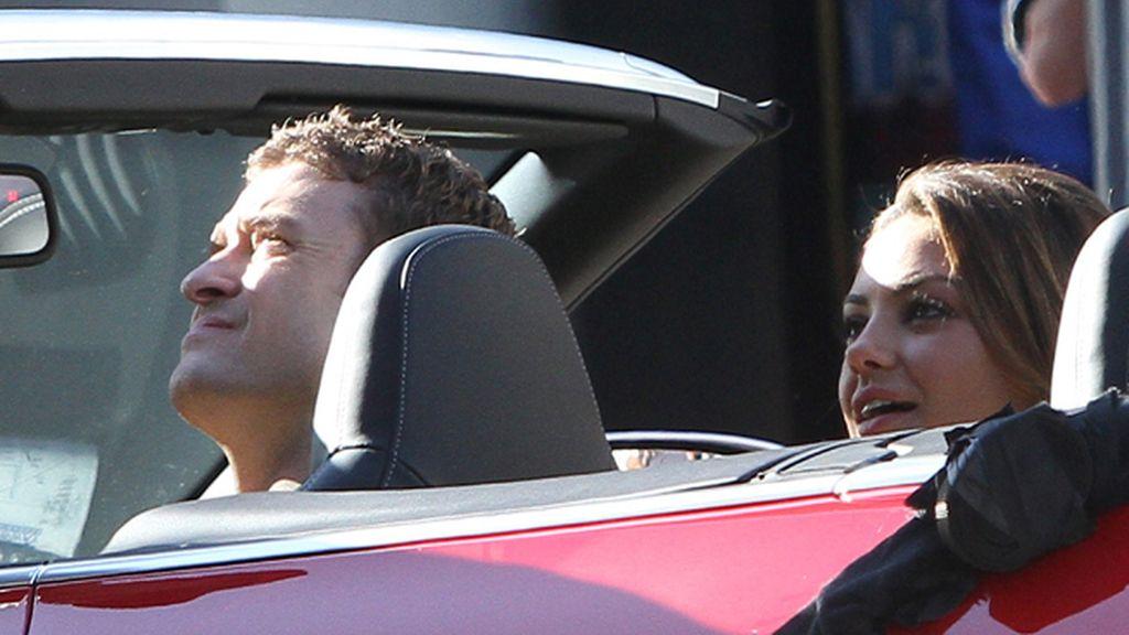 Justin Timberlake y Mila Kunis