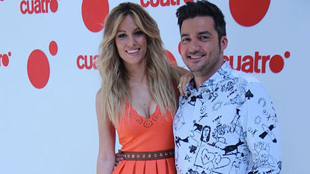 Edurne y Xavi Rodríguez, presentadores de 'Todo va bien'
