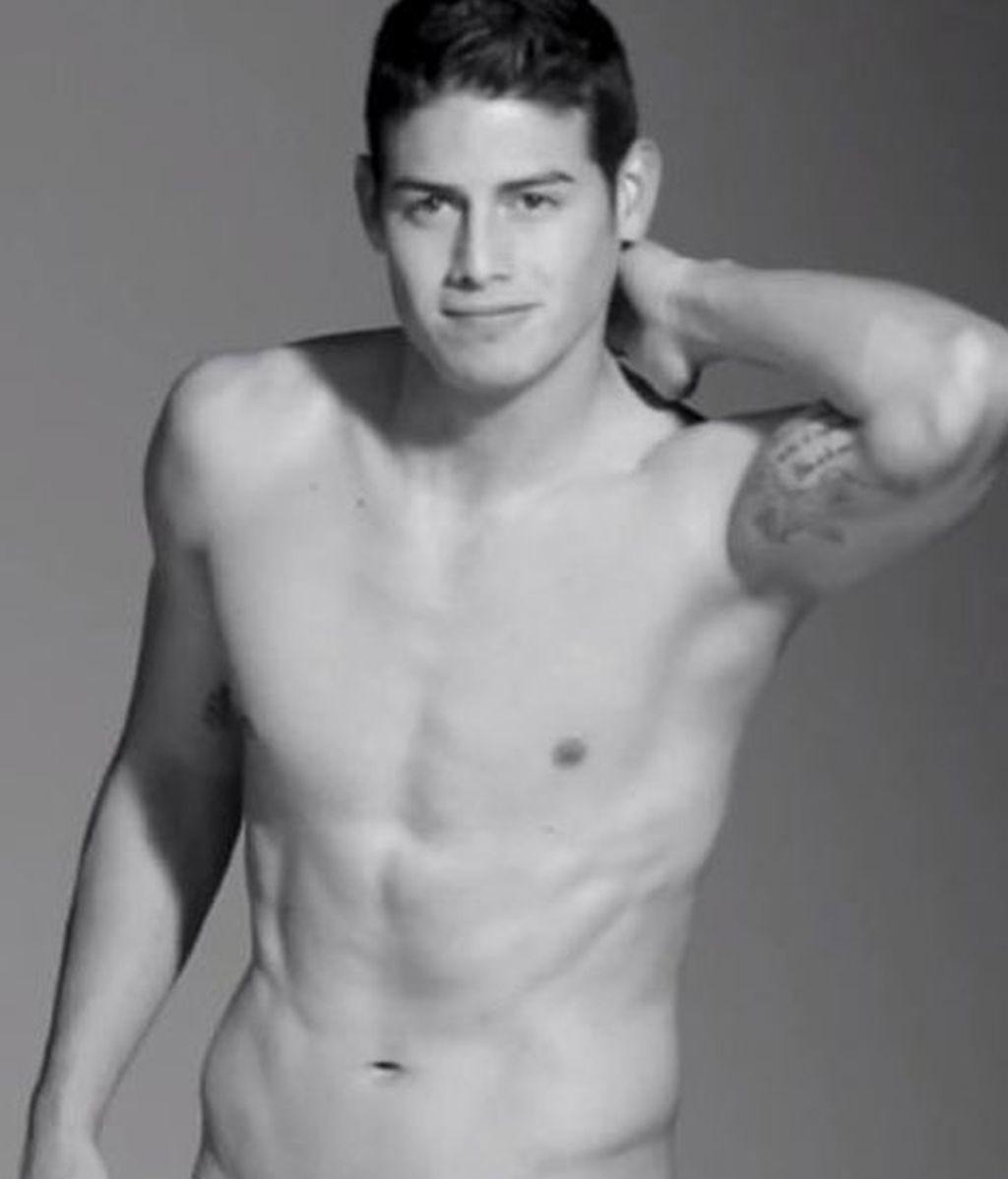James Rodríguez, modelo de ropa interior
