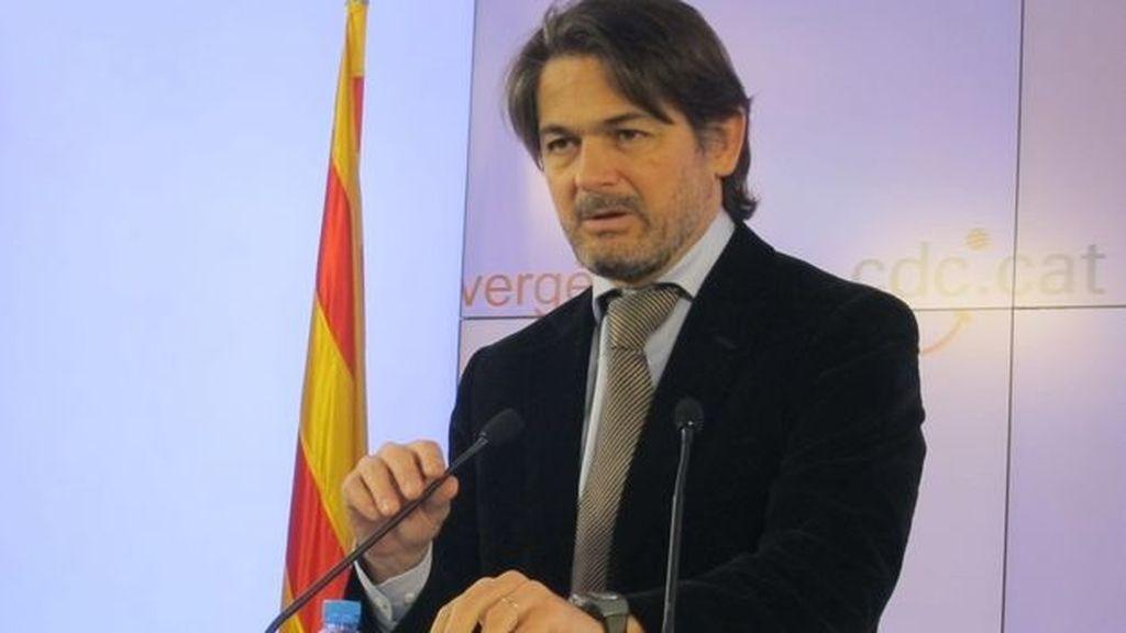 Oriol Pujol, presidente del CiU en el Parlament