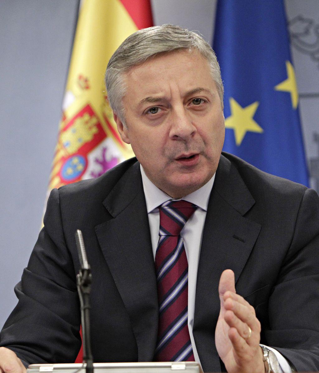 José Blanco, ministro de Fomento en funciones y portavoz del Gobierno.