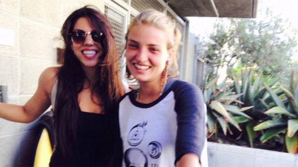 lesbianas Hawái,Courtney Wilson y Taylor Guerrero