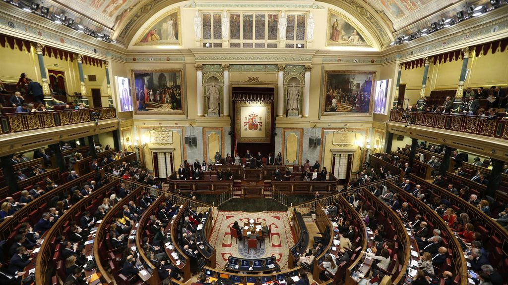 Constitución de las Cortes Generales de la XI Legislatura