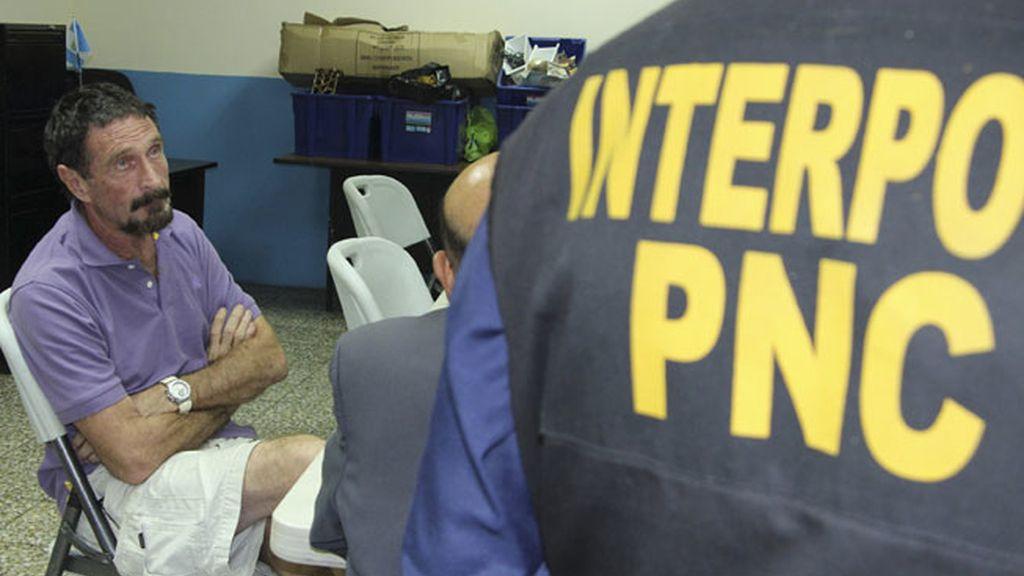 John McAfee, detenido en Guatemala al entrar sin permiso en el país