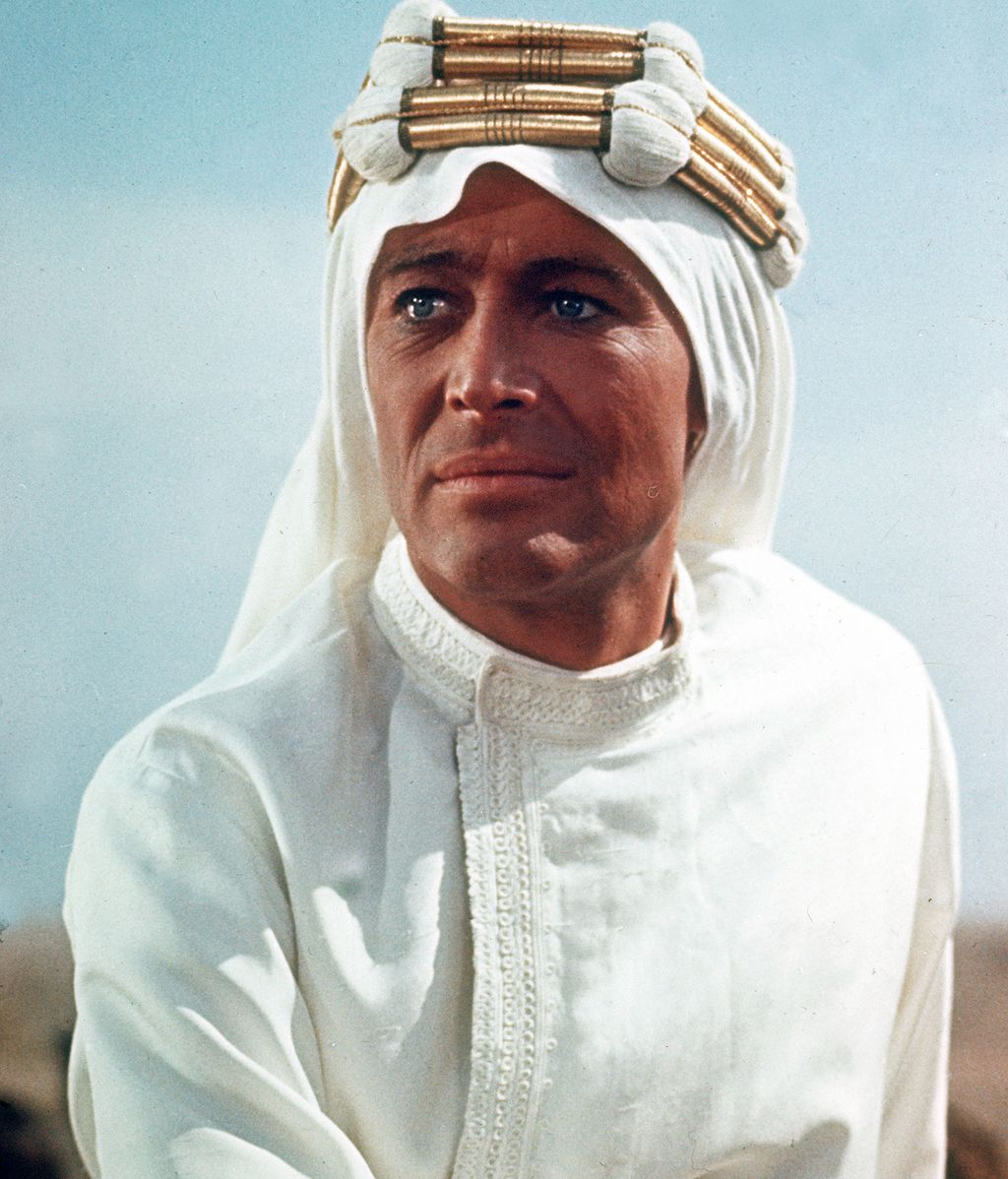 Famoso por su personaje de Lawrence de Arabia